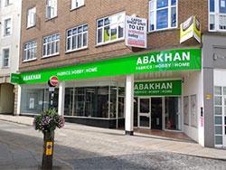 Abakhan are coming to Shrewsbury!