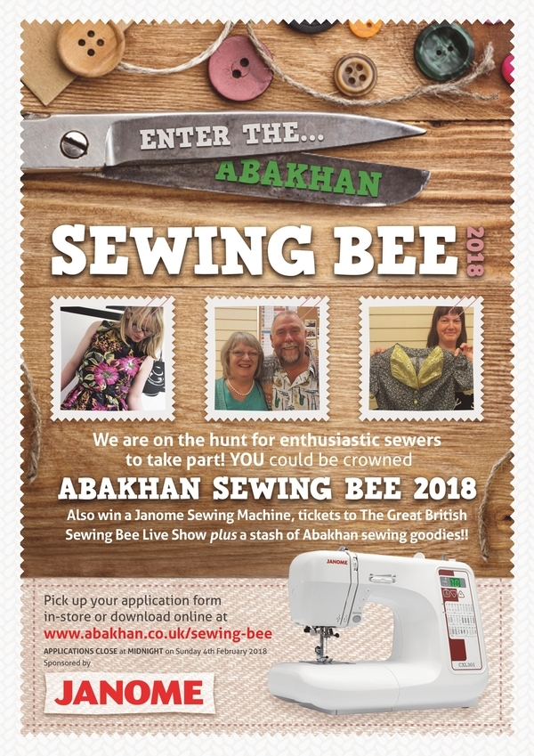 The Abakhan Sewing Bee