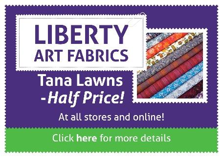 LIBERTY Tana Lawn Fabrics - Half Price