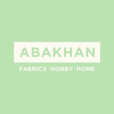 Fern Print 100% Cotton Fabric Tan 110cm