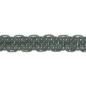 Polyester Braid 435 Dark Teal Green 15mm