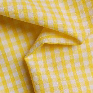 "3.25mm 1 8"" Gingham Yellow 112cm"
