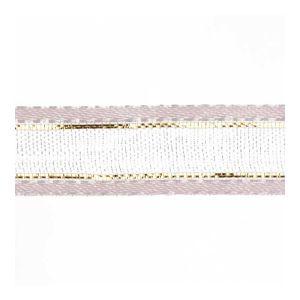 Organza Ribbon Pink Gold 10mm