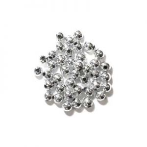 Pearl Beads Silver 5mm x 7grms