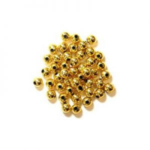 Pearl Beads Gold 5mm x 7grms