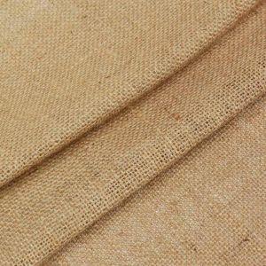 Stainless Hessian Craft Fabric 140cm