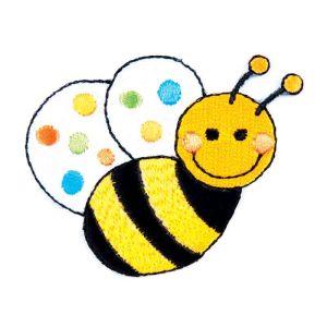 Bumble Bee Motif Code A 5 x 6cm