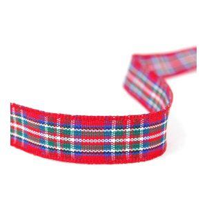 Tartan Ribbon 7 Royal Stewart 10mm
