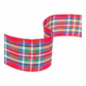 Tartan Ribbon 7 Royal Stewart 25mm