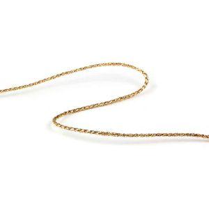 Twist Metallic Cord Gold 2mm