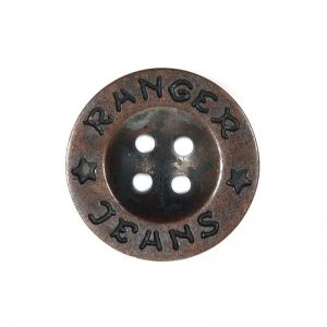 Ranger Jeans Dill Button Oxy 20mm