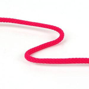 Knitted Cord Cerise Pink 4mm