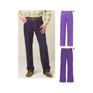 Kwik Sew Sewing Pattern Mens Pants/K3504/S-XXL