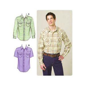 Kwik Sew Sewing Pattern Mens Top/K3506/S-XXL