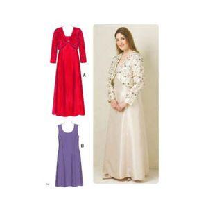 Kwik Sew Sewing Pattern Womens Dress/K3514/XL-XXXXL