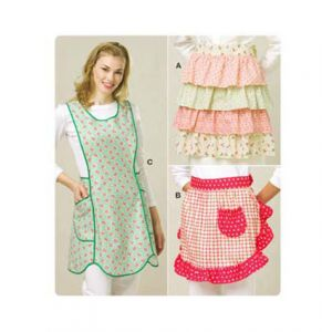 Kwik Sew Sewing Pattern Misses' Aprons/K3518/One Size