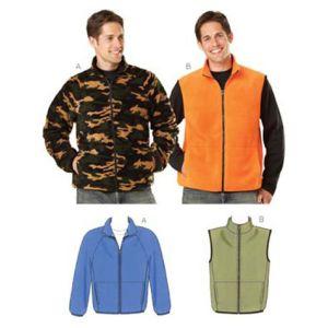 Kwik Sew Sewing Pattern Mens Jacket/K3638/S-XXL