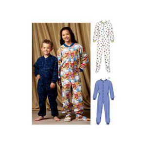Kwik Sew Sewing Pattern Unisex Boy Girl Sleep And Lounge/K3714/Age 4-14