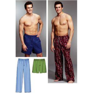 Kwik Sew Sewing Pattern Mens Sleep And Lounge/K3793/S-XXL