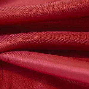 Plain Polyester Habotai Fabric Wine 145cm