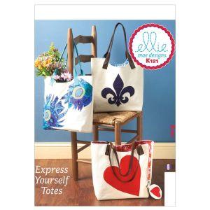 Kwik Sew Sewing Pattern Trendy Bags/K0121/One Size