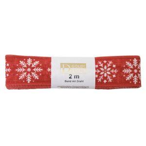 2 Metre Bundles of Xmas Ribbon 20 25mm x 2m