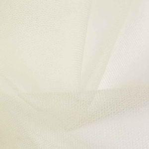 Stiff Tulle Dressmaking Fabric Ivory 150cm