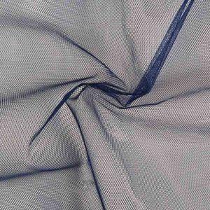 Stiff Tulle Dressmaking Fabric French Navy 150cm