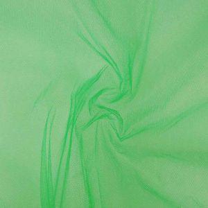 Stiff Tulle Dressmaking Fabric Kelly Green 150cm