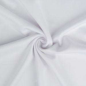 Plain Scuba Bodycon Fabric White 145cm