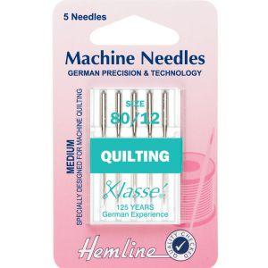 Sewing Machine Needles Quilting  Medium 80/12