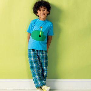 Kwik Sew Sewing Pattern Boys Casual/K3999/One Size