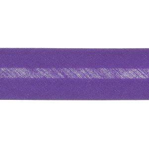 Polycotton Bias Binding 183 Purple 25mm