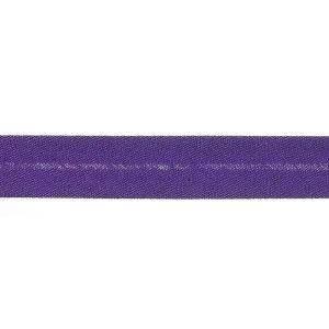 Polycotton Bias Binding 183 Purple 13mm