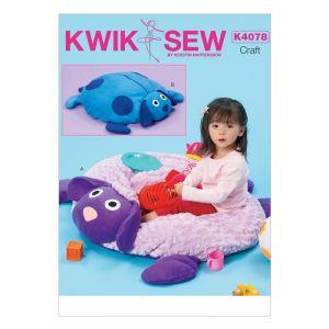 Kwik Sew Sewing Pattern Crafts/K4078/One Size