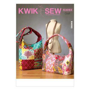 Kwik Sew Sewing Pattern Crafts/K4093/One Size