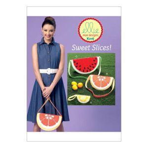 Kwik Sew Sewing Pattern Fruit Bags/K0216/One Size