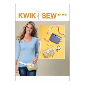 Kwik Sew Sewing Pattern Belly Bag/K4165/One Size