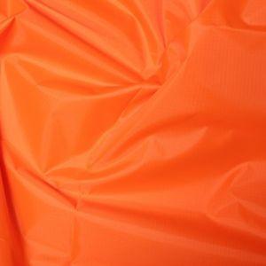 Polyester Rip Stop Fabric Orange 150cm