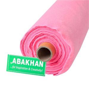Budget Felt 10mt Roll of Fabric Pink 90cm x 1mm