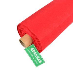 Budget Felt 10mt Roll of Fabric Red 90cm x 1mm