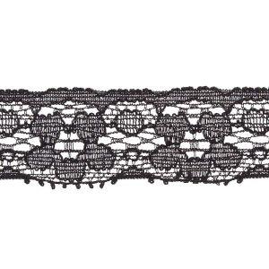 Stretch Lace Black 20mm