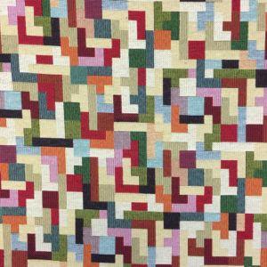 Tetris Tapestry Fabric Multi 140cm