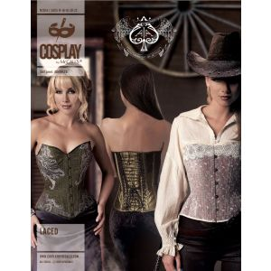 McCalls Sewing Pattern Misses Cosplay Lined Corsets 14-22