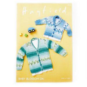 Hayfield Baby Blossom DK Cardigan Pattern  Birth to 7 years