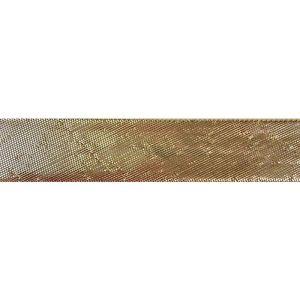 Metallic Bias Binding Gold 15mm