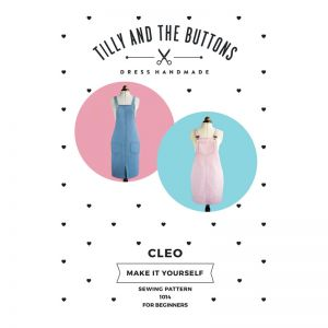 Tilly and The Buttons Sewing Pattern Cleo Dungaree Dress 6-20