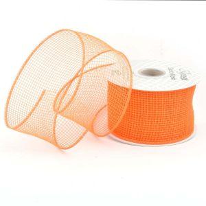 Deco Mesh Orange 04 63mm