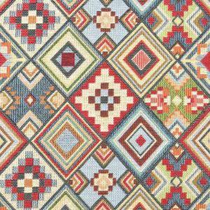 Little Aztec Tapestry Fabric Multi 140cm