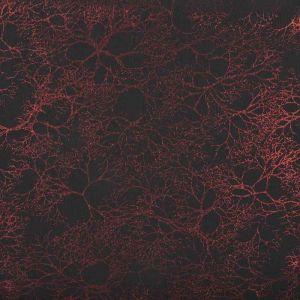 Web Spandex Foil Print Fabric 5 Red 145cm